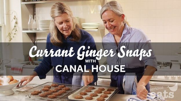 Currant Ginger Snaps with Canal House ~ via www.seriouseats.com ...
