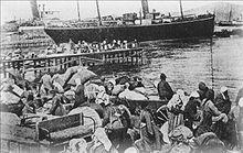 Greek refugees from Smyrna, Turkey, 1922