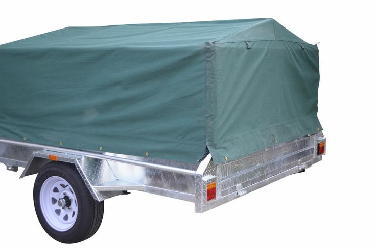 7X4 600MM TRAILER CAGE CANVAS COVER