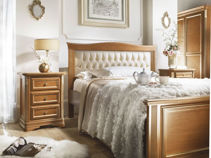 Bedroom Design with a kingsize bed - Colectia Marco Polo