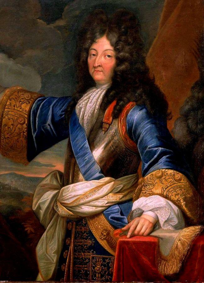 """Louis XIV of France / Rey Luis XIV de Francia """"Rey Sol"""" 1"""