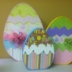 lots of cute Easter wood crafts