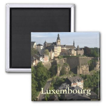 A view of Luxembourg. In the foreground you can see part of the Grund (or Gronn), a quarter in Luxembourg on the banks of the Alzette river. In the background, on the cliff, is the Ville Haute (or Oberstadt), the historic city center of Luxembourg.