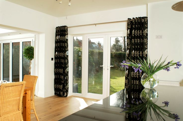 Brighten up your home with these large French doors. http://www.finesse-windows.co.uk/french_doors.php