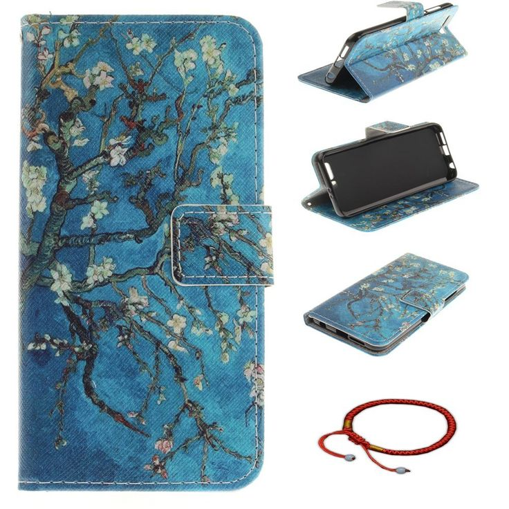 Huawei Honor 9 Ultrathin PU Leather Flip Cover Pattern: Amazon.co.uk: Electronics
