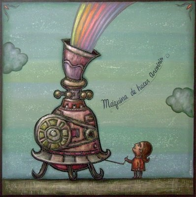 quiero una máquina de hacer arcoiris!!