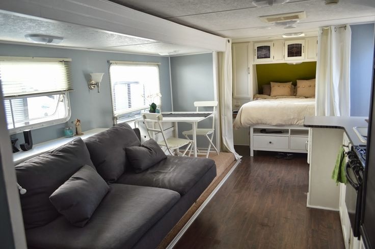 Original 27 Amazing RV Travel Trailer Remodels You Need To See