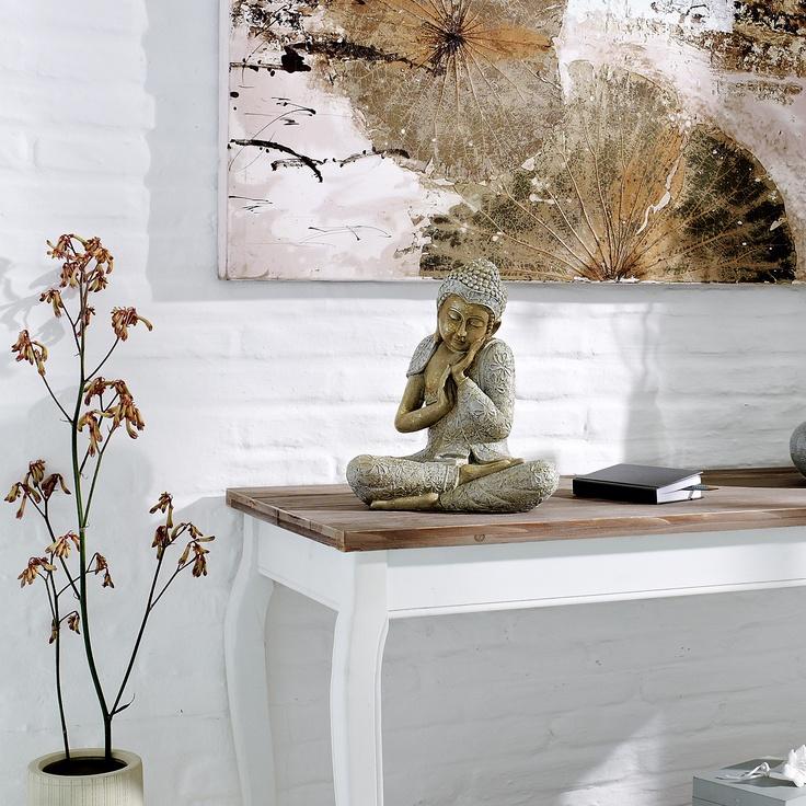 deko figur buddha relax - Buddha Deko Wohnzimmer