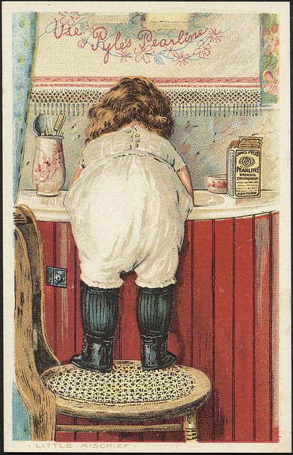 Use Pyle's Pearline - Little Mischief [front] by Boston Public Library, via Flickr