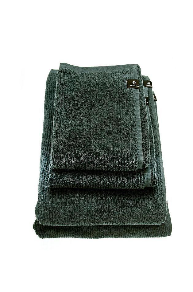 HIMLA Badehåndkle Ella i økologisk bomull 70x140 cm i grønn 399NOK