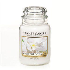 White Gardenia. Så fängslande ... denna fantastiska kungliga skönhet. Den grönskande vita Gardenian i full blom. Vit Gardenia sprider ren vårglädje. #YankeeCandle #WhiteGardenia
