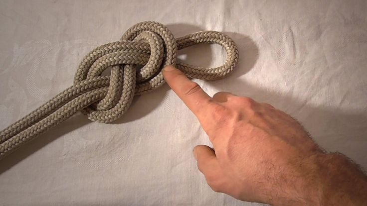 figure eight knot instructions
