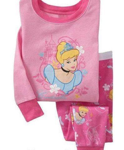 Gap 2 pc pink Cinderella Pyjama size 2 / Pyjamas long 2 pièces de Marque Gap 2 ans 17$
