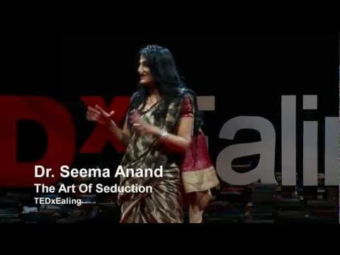 The art of seduction | Seema Anand | TEDxEaling - YouTube. Interesting mythology explanation and aroma placements.