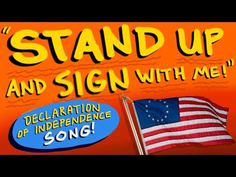 """Declaration of Independence Song - """"Stand Up And Sign With Me"""" (""""Shut Up And Dance"""") - Ben Leddy - YouTube"""
