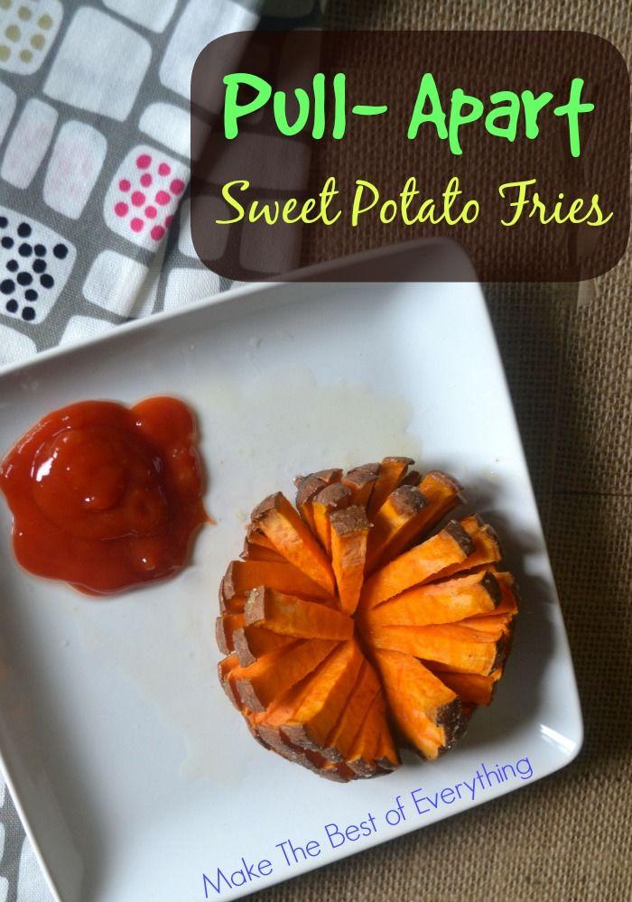 Pull-Apart Sweet Potato Fries. Easy and Fun.