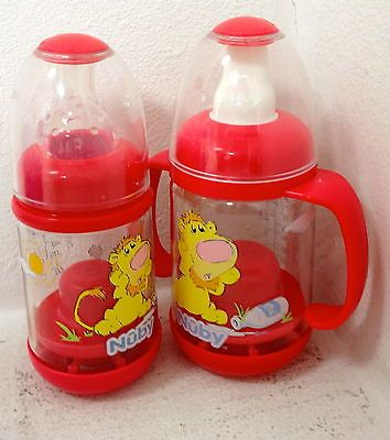 New Nuby Infa Infant Feeder Cereal and Baby Food Bottle with sippy cup spout