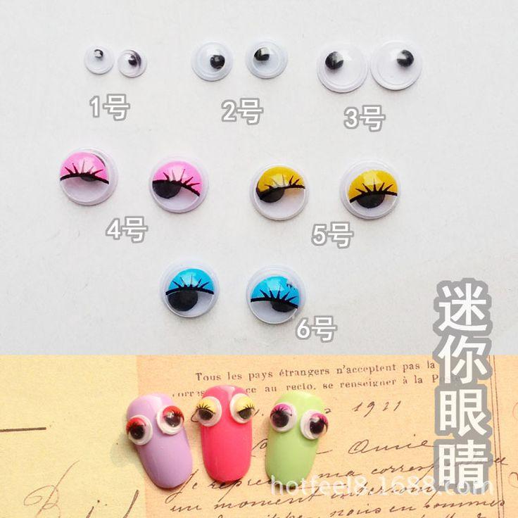 Блеск ногтей инструменты 3d nail art украшения для ногтей стразами геля и лака необходимо украшения новых прибыть M237-1pair
