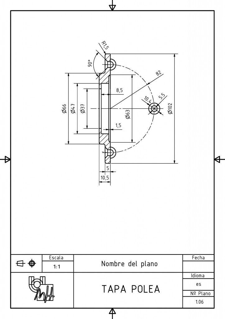 Despiece De Gancho Tapa Polea Http Dibujotecnico Edu Umh Es Category Conjunto Gancho Tecnicas De Dibujo Dibujo Tecnico Ejercicios Dibujo Tecnico Industrial