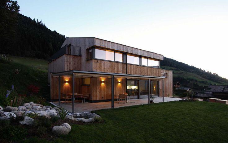Einfamilienhaus - Holzhaus Modern - Was wir bauen - Meiberger Holzbau