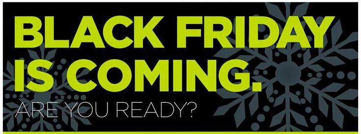Keep your eyes peeled for our Black Friday Sale starting November 27th. You won't want to miss it! #BlackFriday