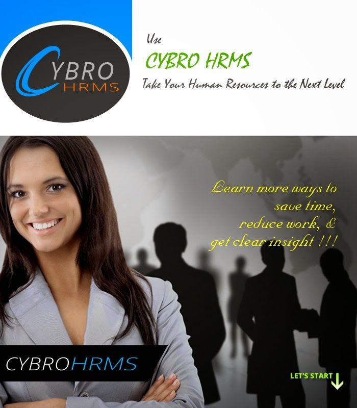 CYBRO HRMS, a versatile and collaborative HR management system that energizes people through effective communication tools.It allows multiple users to access from different locations and to manage the HR systems that includes managing and maintaining employee data, time and attendance, work analysis, payroll processing etc.