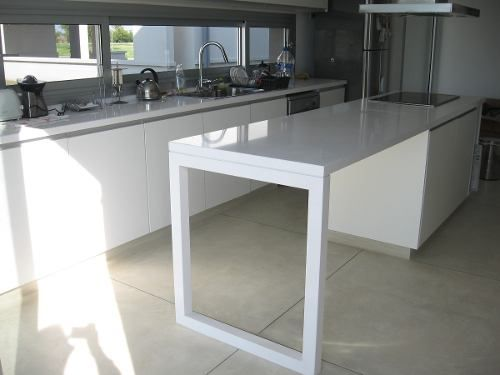 18 best images about piso porcelanato on pinterest for Mesada de silestone