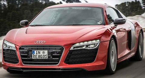 2013 Audi R8 e-tron Concept: 0 to 60 mph in 4.2 seconds. Top Speed of 124 mph.