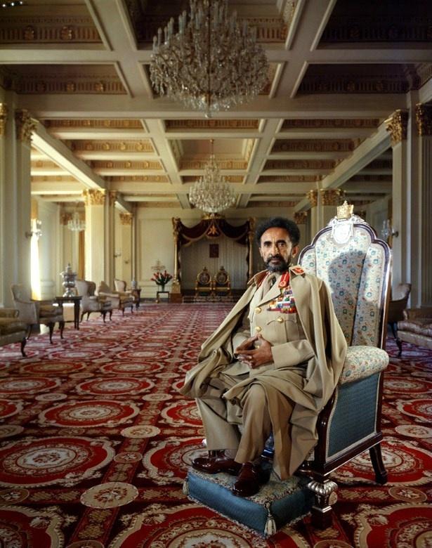 Emperor Haile Selassie - Ethiopia - Africa - 1958