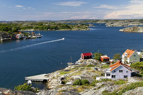 SWEDEN - Styrsö   Ship Commander's Island   Gothenburg Archipelago