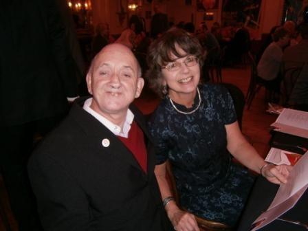 Trustees Brian Marshall & Dr Nicola Grove