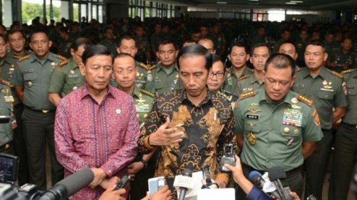 Presiden Jokowi Sampaikan Duka Cita untuk Intan, Korban Bom di Samarinda