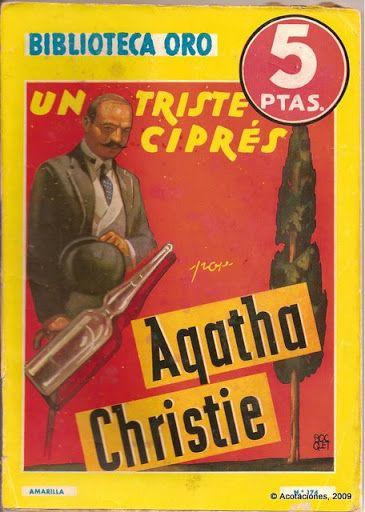 Un Triste Ciprés. Molino. Biblioteca Oro (2). 174. 1945