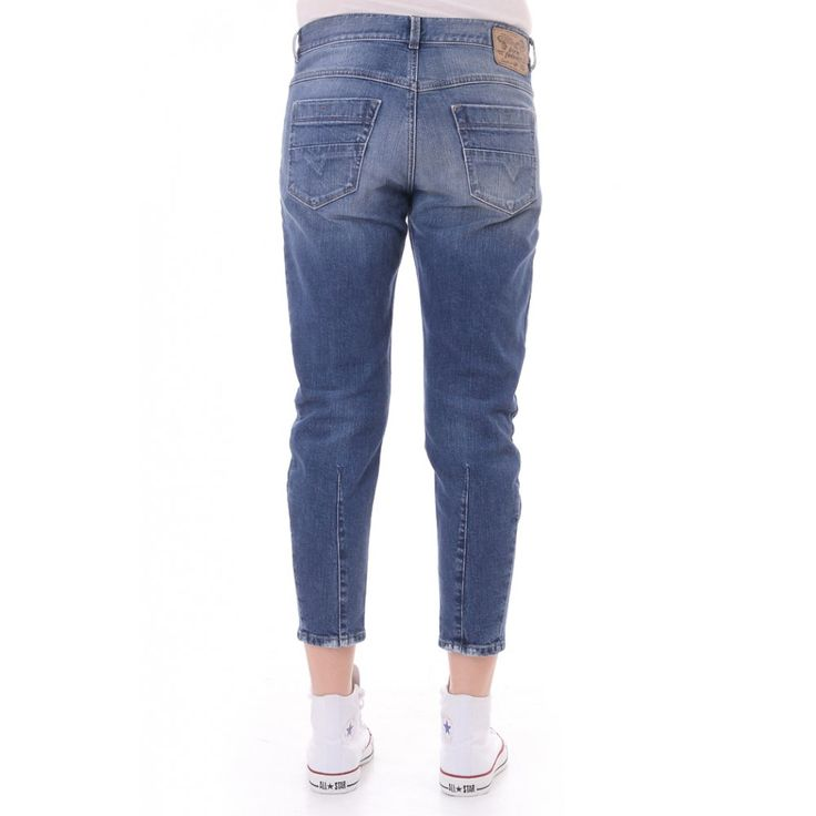 Diesel Womens Debi Ankle Length Jeans | Diesel Jeans | Blueberries