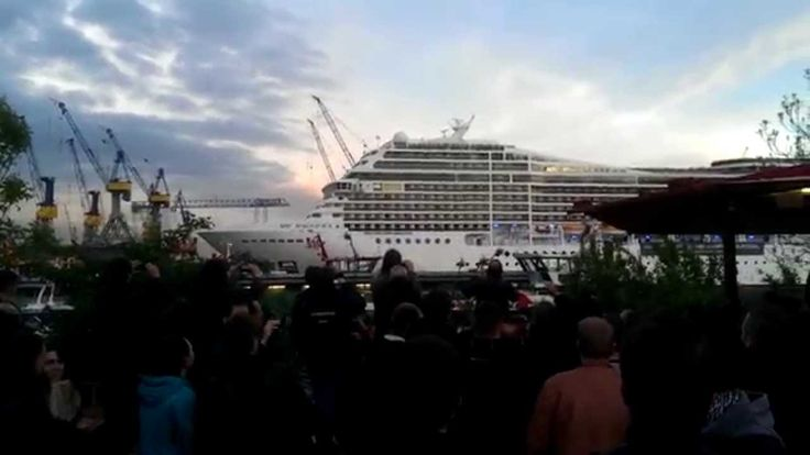 New Video of MSC Magnifica Blasting Out White Stripes Song