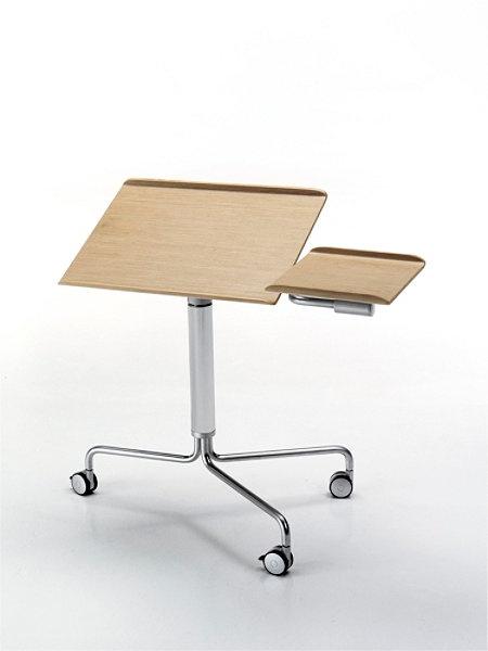 Archimede Laptop Trolley Für Einzelarbeitsplatz, Konferenzraum, Meetingraum  Von Leonardo Rossano Topdeq   Büromöbel U0026