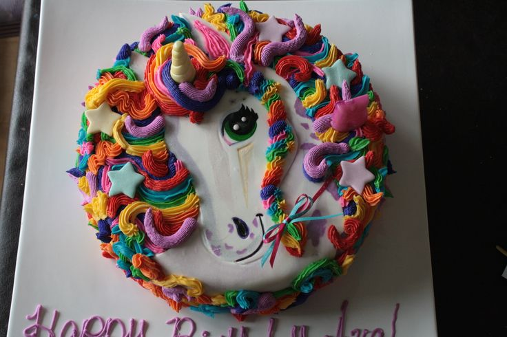 Lisa Frank Birthday Cake Ideas
