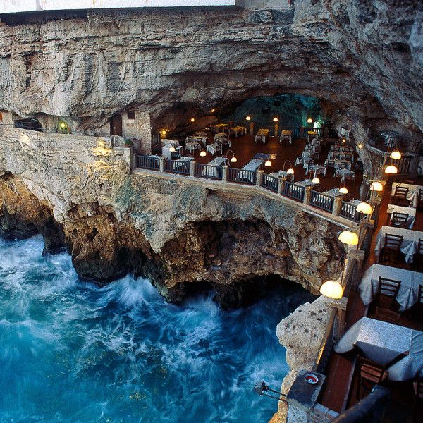 Grotta Palazzese Hotel in Italy