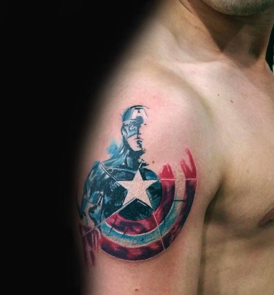17 best ideas about captain america tattoo on pinterest captain america captain america art. Black Bedroom Furniture Sets. Home Design Ideas