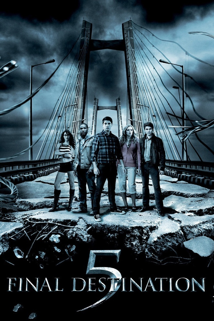 Final Destination 5 (2011): Survivors of a suspension-bridge collapse learn there's no way you can cheat Death.  #movie