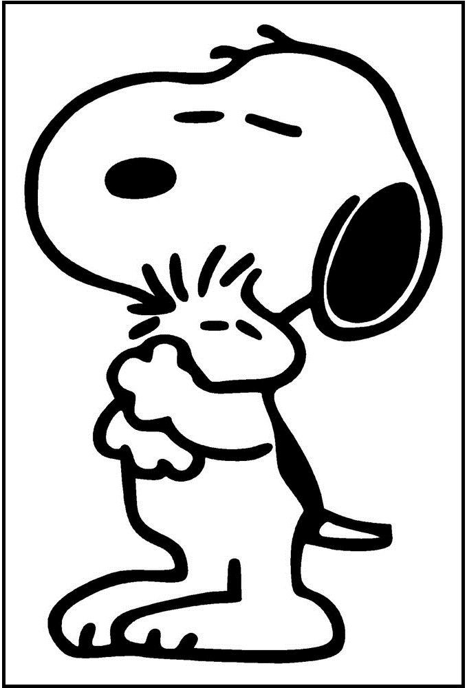 peanuts coloring pages woodstock - photo#14