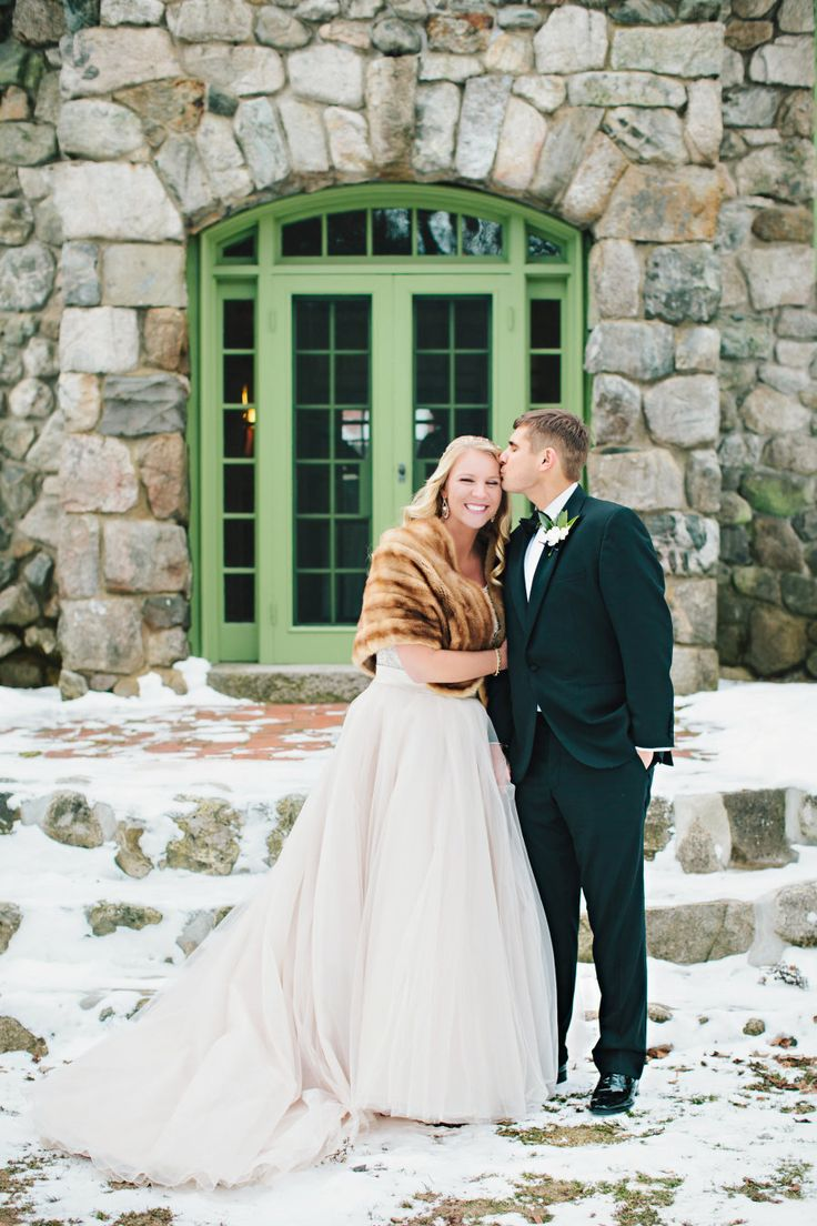 The Coziest Winter Wedding In New England