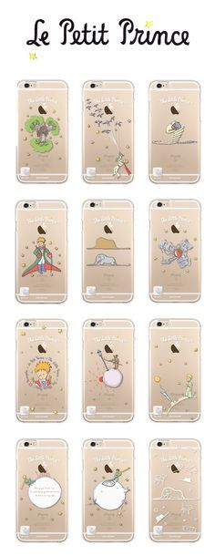 Free your creativity and imaginations with this beautiful Little Prince iPhone 6/6 Plus Case!