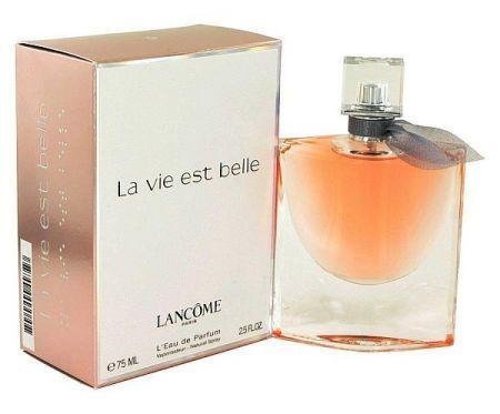 La Vie Est Belle de la Lancome este un parfum floral fructat gurmand de dama. Acesta este un parfum nou, La Vie Est Belle a fost lansat in 2012. La Vie Est Belle a fost creat de Olivier Polge, Dominique Ropion si Anne Flipo. Notele de varf sunt coacaze negre si para; notele de mijloc sunt stanjenel, iasomie si floare de portocal; Notele de baza sunt paciuli, boabe de tonka, vanilie si pralina.