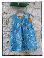 Tutorial voor jurkje van mme zsa zsa. Prima basisjurkje waar je zelf naar hartelust plooien, zakken, kantjes, bandjes en applicaties op los kunt laten.