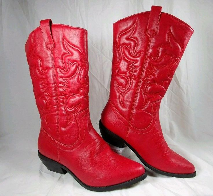 25  Best Ideas about Red Cowboy Boots on Pinterest | Cute football ...