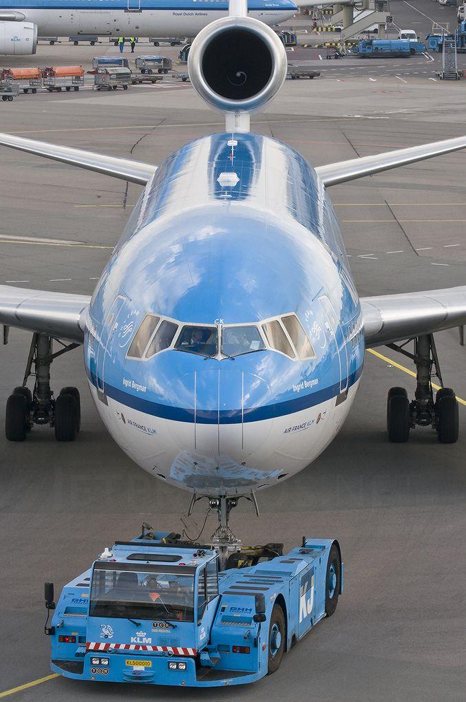"KLM McDonnell Douglas MD-11 PH-KCK ""Ingrid Bergman"""