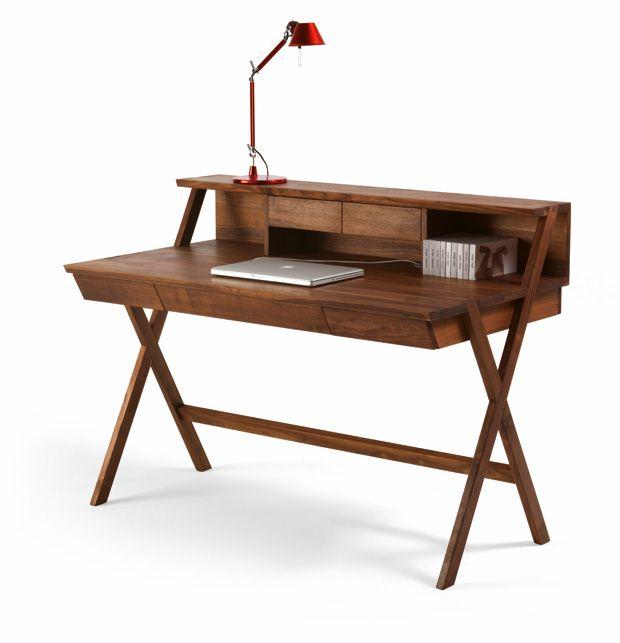 Schreibtisch design holz  Die besten 25+ Schreibtisch klappbar Ideen auf Pinterest ...