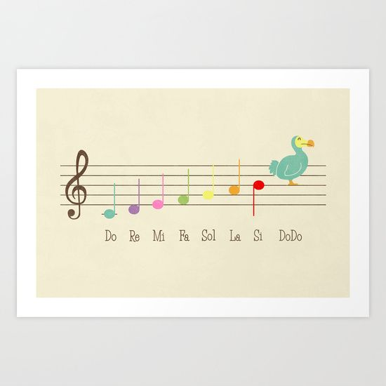 Music Lesson Art Print by Teo Zirinis - $16.00