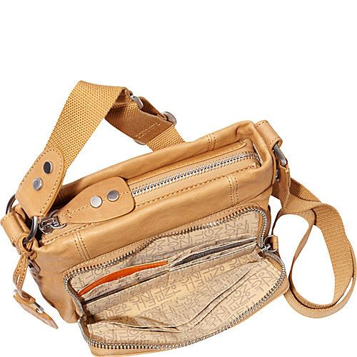 Buy the Ellington Handbags Eva Crossbody at eBags - Keep your hands free and your essentials stored stylishly inside this casual crossbody bag from Elli